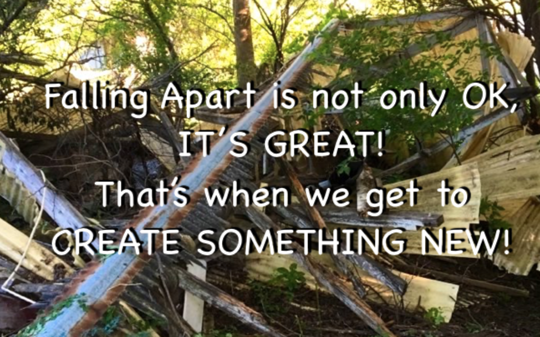 Falling Apart Is Great!
